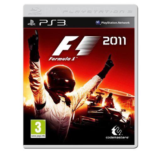 F1 2011 PS3 box art