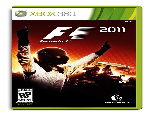 F1 2011 Xbox 360 box art