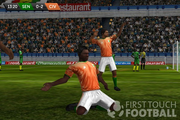 First Touch Football screenshot