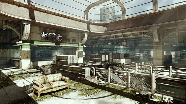 Gears of War 3 checkout map