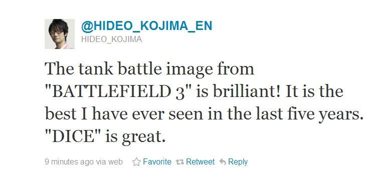 Hideo Tweet