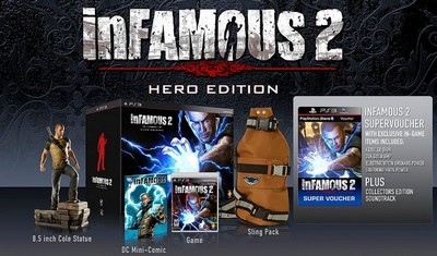 inFamous 2: Hero Edition packshot