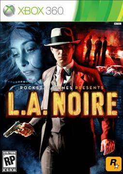 L.A Noire Xbox 360 boxart