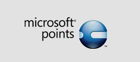 Microsoft points logo