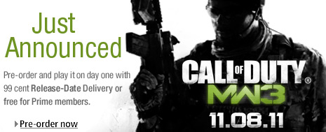 Call of Duty: Modern Warfare 3 launch date revealed by Amazon