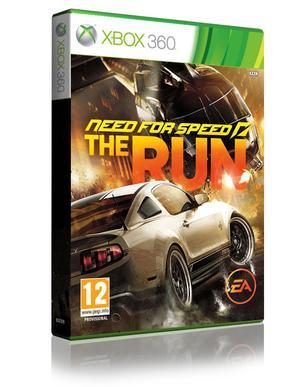 Need for Speed: The Run box art