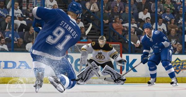 NHL 12 cover star Stamkos