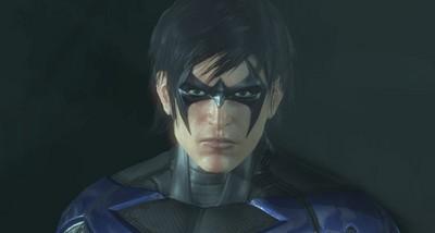 Nightwing Arkham City screen