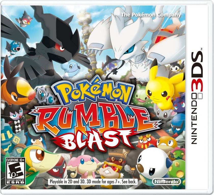 Toy Game On Ds : Pokemon rumble blast review ds