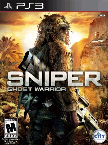 Sniper: Ghost Warrior PS3 box art