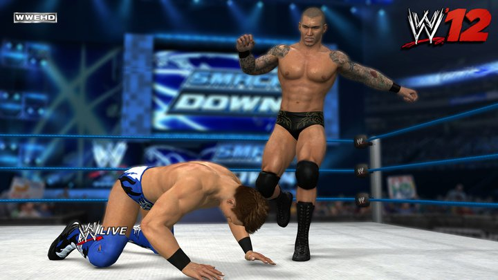 WWE 12 screenshot