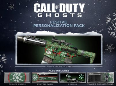 Call of Duty: Ghosts Festive Personalization Pack