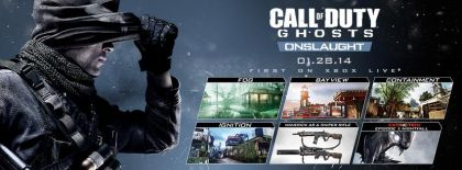 Call of Duty: Ghosts Onslaught DLC