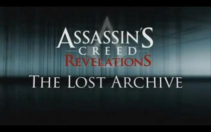 Assassin's Creed: Revelations The Lost Archive DLC