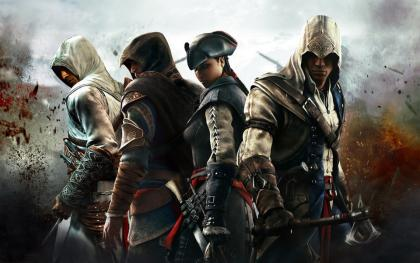 Assassins from Assassin's Creed series