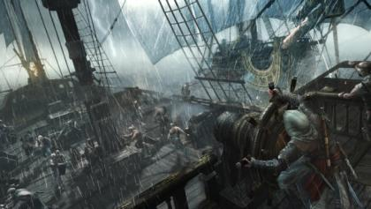 Assassin's Creed IV Naval Battle