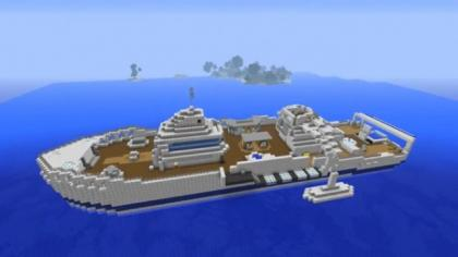 Black Ops 2 Hijacked Map in Minecraft