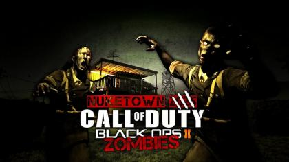 Black Ops 2 NukeTown Zombies