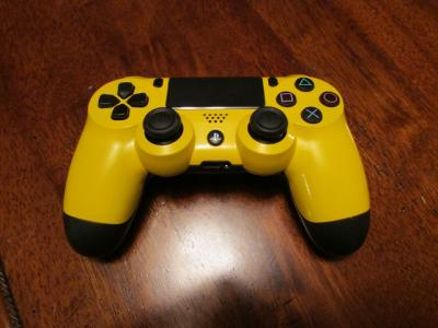 DualShock 4 Controller In Yellow