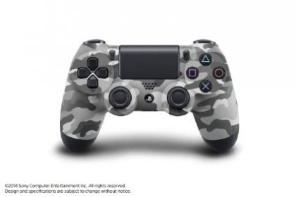 DualShock 4 Controller in Camo Color