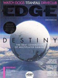 Edge Magazine Issue 257 Cover