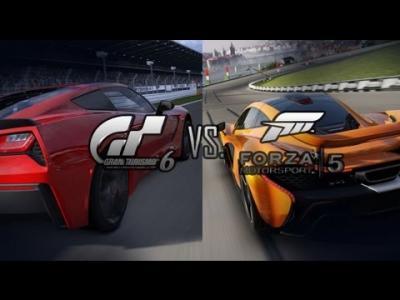 Forza 5 Vs Gran Turismo 6 Bathurst Circuit Comparison Screens