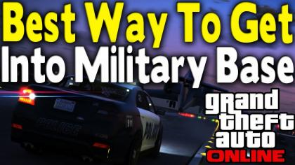 GTA Online Military Base