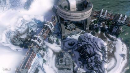 Halo 4 Longbow Multiplayer Map