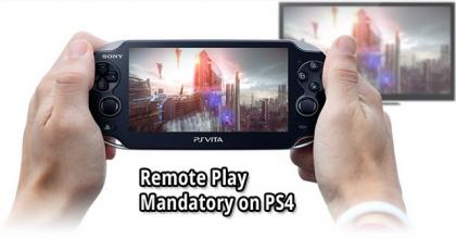 PS VITA And PS4 Remote Play