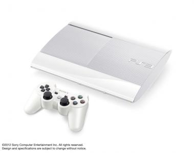 PS3 in White