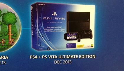PS4 And PS VITA Bundle