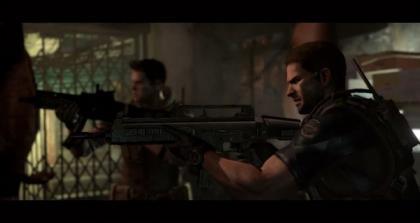 New Resident Evil 6 Gameplay Video Show Chris Redfield Vs Giant