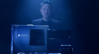 Yoshida With PS4
