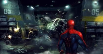 The Amazing Spider-Man screen