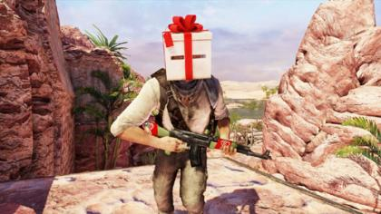 Uncharted 3 Holiday Items screenshot