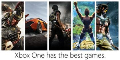 Xbox One Best Game Ad