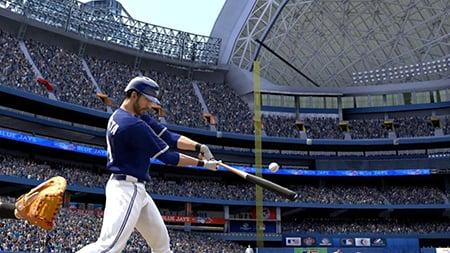 MLB 14: The Show Comparison Screen