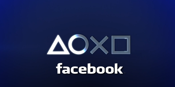 Facebook PlayStation 4 logo