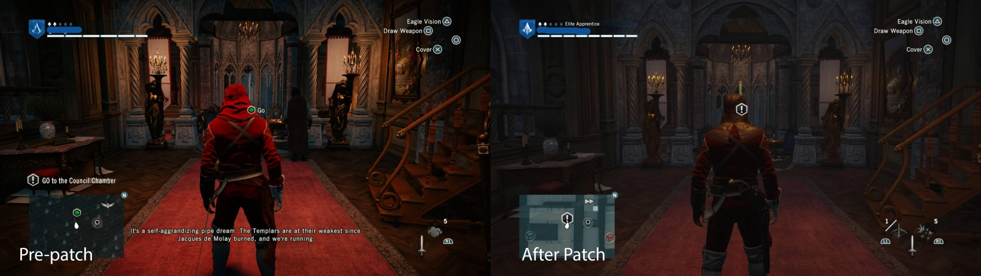Assassins creed unity ps4 patch