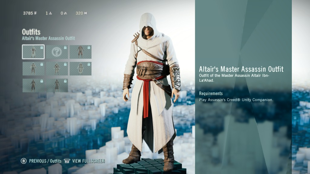 Assassinu0026#39;s Creed Unity Outfits Guide How To Unlock Altair Ezio And Other Assassinu0026#39;s Outfits ...
