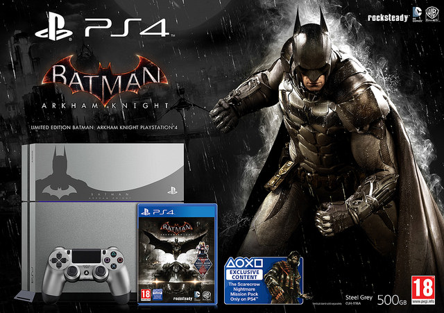 Batman Arkham Knight Limited Edition PS4 Unveiled New