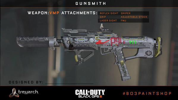 Call of Duty: Black Ops III Paint Jobs Feature