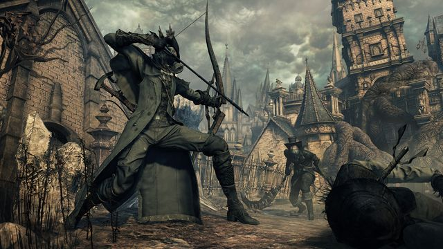 Bloodborne: The Old Hunters Bow Blade Weapon