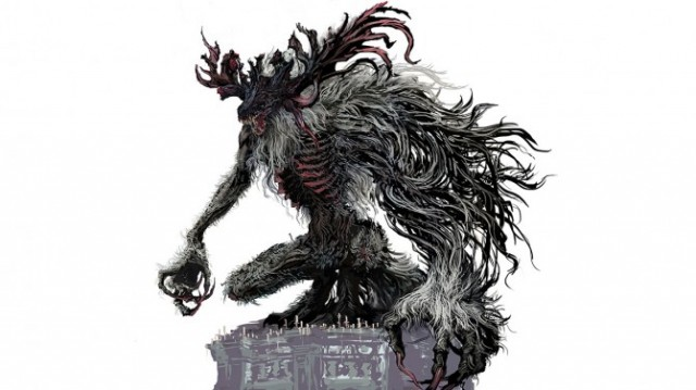 Ps4 exclusive bloodborne gets new concept arts shows scary monster