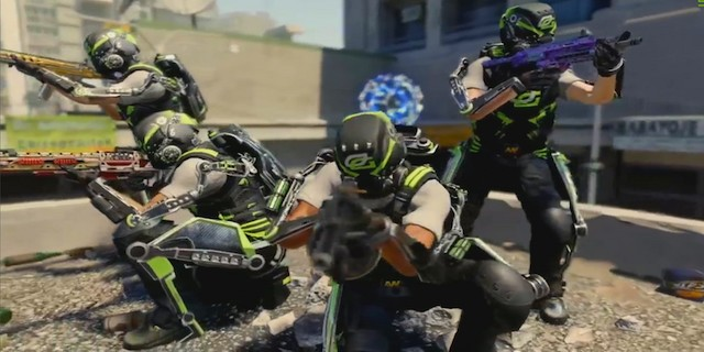 Call of Duty: Advanced Warfare Optic Gaming Gold Gear