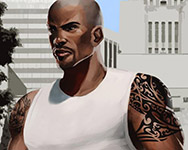 Carl Johnson - C.J. GTA Character