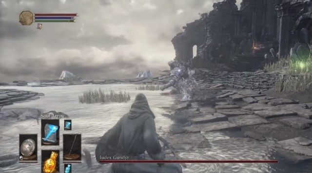 Ludex Gundyr Boss Fight