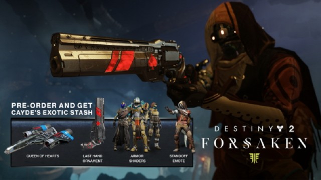 Destiny 2 Forsaken Pre-order Items Location | Where To Find