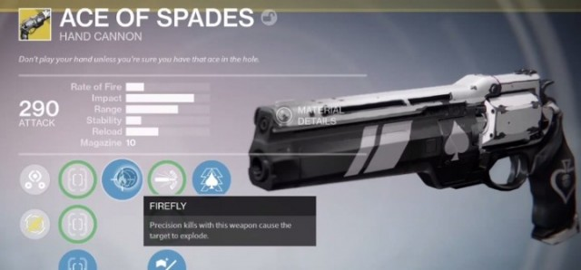 Destiny: The Taken King Ace Of Spades