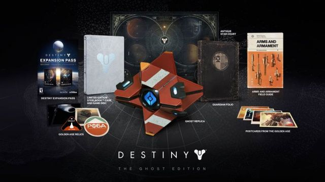 Destiny Limited And Ghost Edition For Ps4 And Xbox One